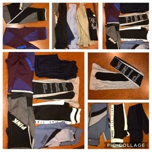 11pc Victoria Secret leggings shirts jacket lot